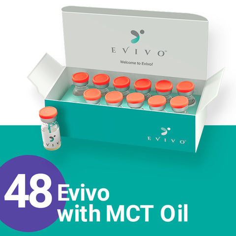 Evivo with MCT Oil, 48-count (NDC 86253-0100-15)