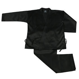 STUDENT WEIGHT KARATE UNIFORM - BLACK