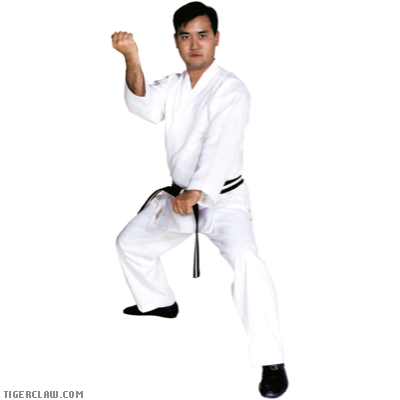ESSENTIAL TRADITIONAL KARATE UNIFORM - WHITE