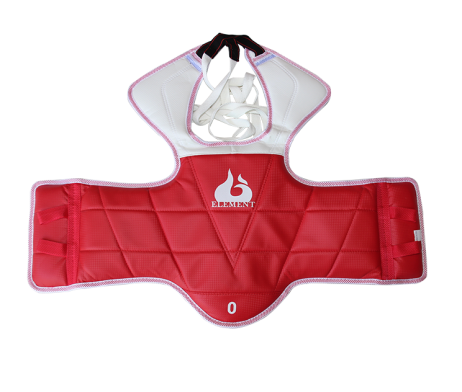 ELEMENT REVESRSIBLE WTF STYLE TAEKWONDO CHEST PROTECTOR (HOGU)