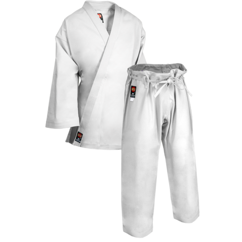 KI HEAVY WEIGHT GI - TRADITIONAL WHITE KARATE UNIFORM