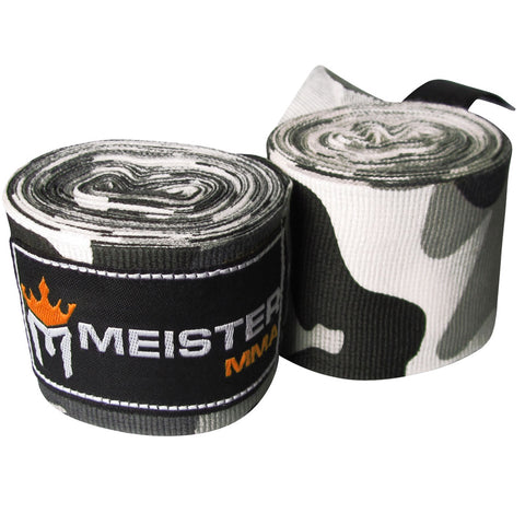 "180"" SEMI-ELASTIC HAND WRAPS FOR MMA AND BOXING - VARIOUS PATTERNS"