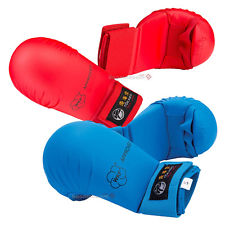 TOKAIDO WKF APPROVED FIST PADS - RED/BLUE