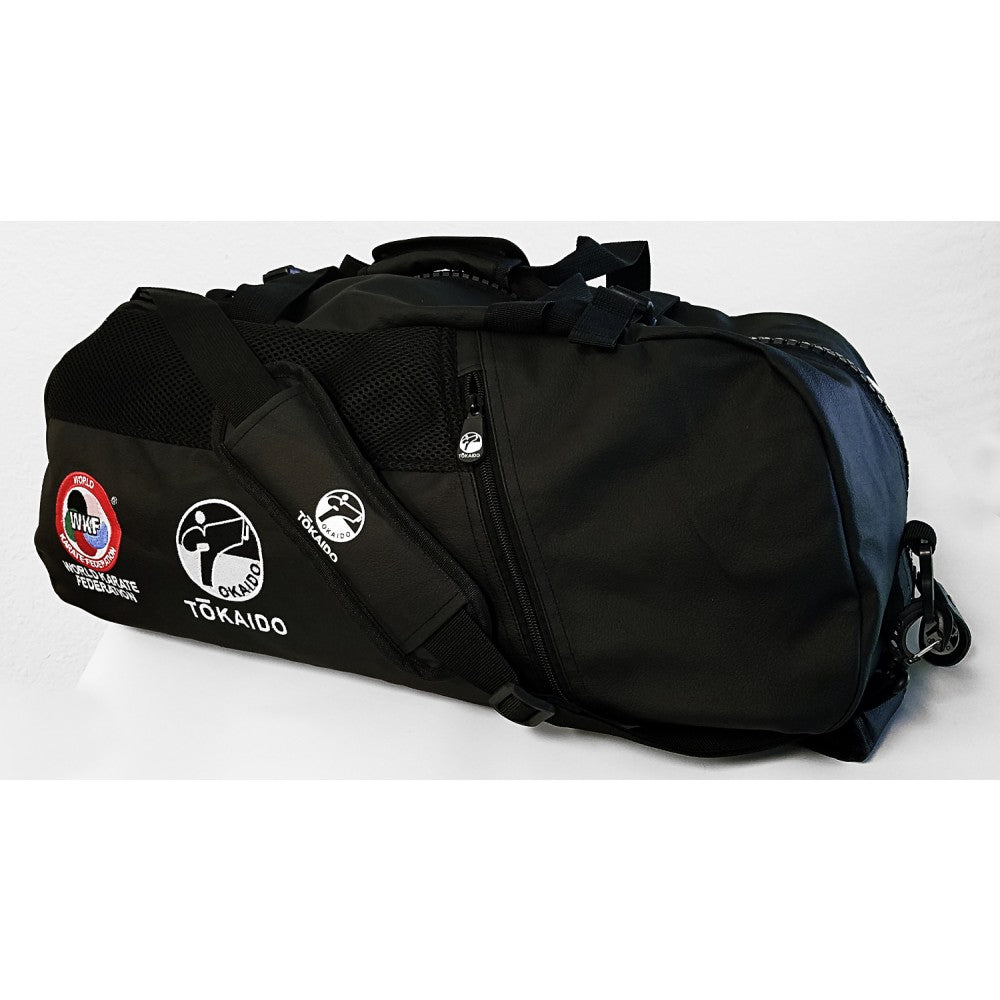 TOKAIDO ALL BLACK WKF CONVERTIBLE BACKPACK / DUFFEL BAG