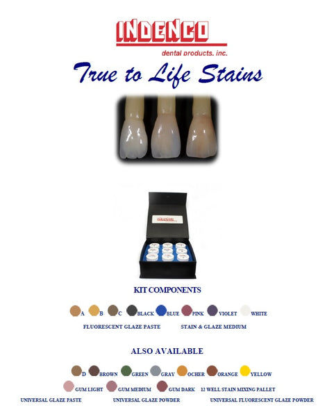 True to Life Stains Kit