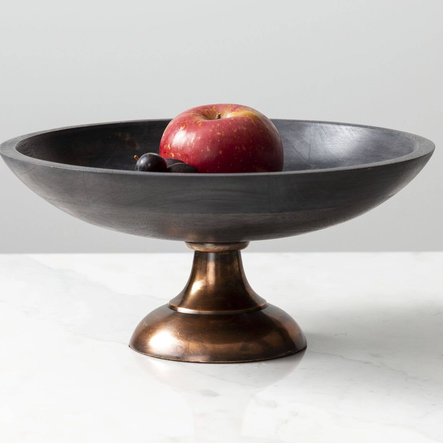 Made Market Co Pedestal Dark Wash Bowl