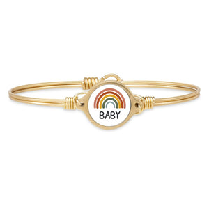 Luca +Danni-Rainbow Baby Bangle Bracelet