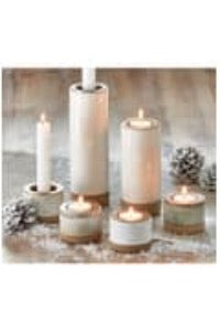 TAG Glazed Candle Holders