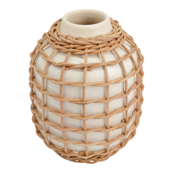 Made Market Co Rattan Vase