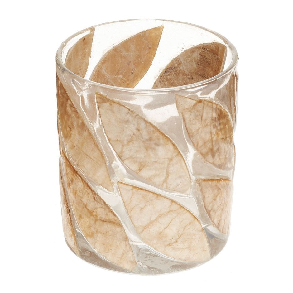 Adv Leaf Votive Holder