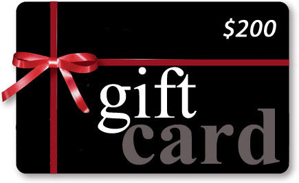 Gift Card-$200.00