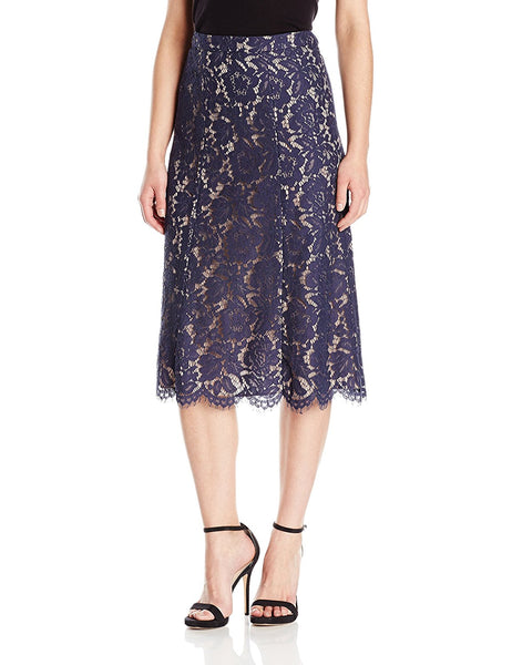 Anne Klein Women's Lace Midi Skirt