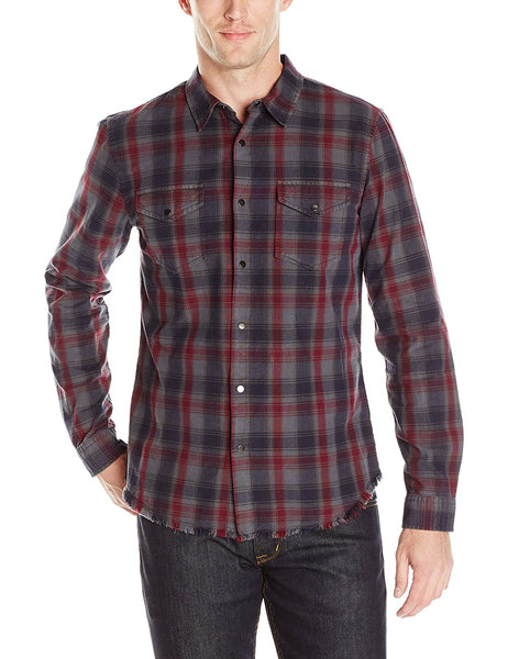 GUESS Men's Rosewood Embroidered Shirt