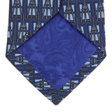 Turnbull & Asser Men's Easels Printed Silk Tie