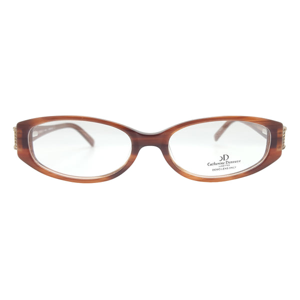 Catherine Deneuve Women's CD-238 Eyeglasses Frames, 51-15-130 Brown