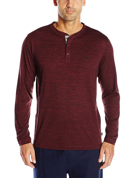 Nautica Men's Henley Sleep Shirt