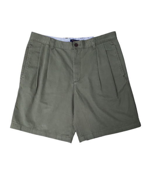 Club Room Men's Core Double Pleat Twill Shorts