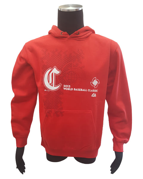Majestic China 2013 World Baseball Classic Pullover Hoodie