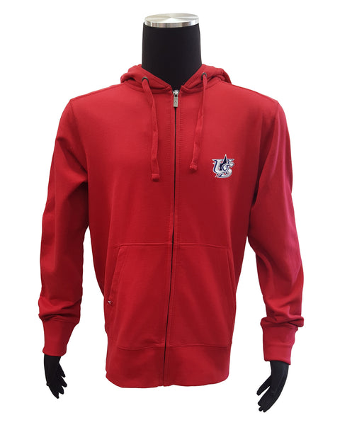 Antigua World Baseball Classic US 2013 Signature Man's Full-Zip Hoodie.