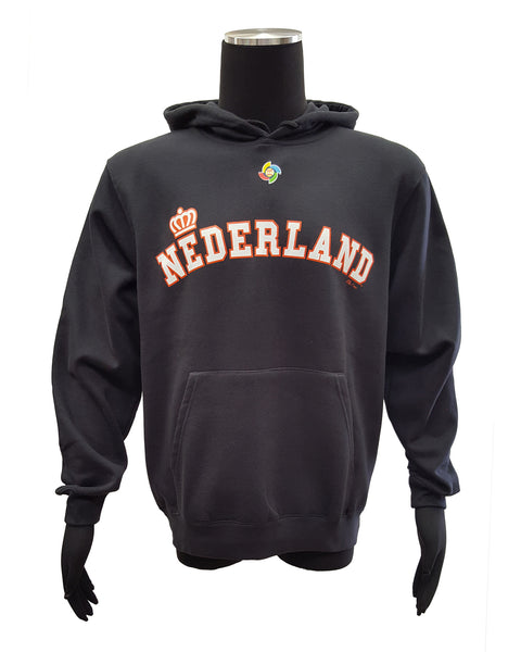 Majestic Nederland World Baseball Classic Pullover Hoodie