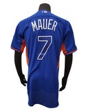 Majestic Minnesota Twins Joe Mauer #7 American League Authentic 2013 All Star Game Jersey