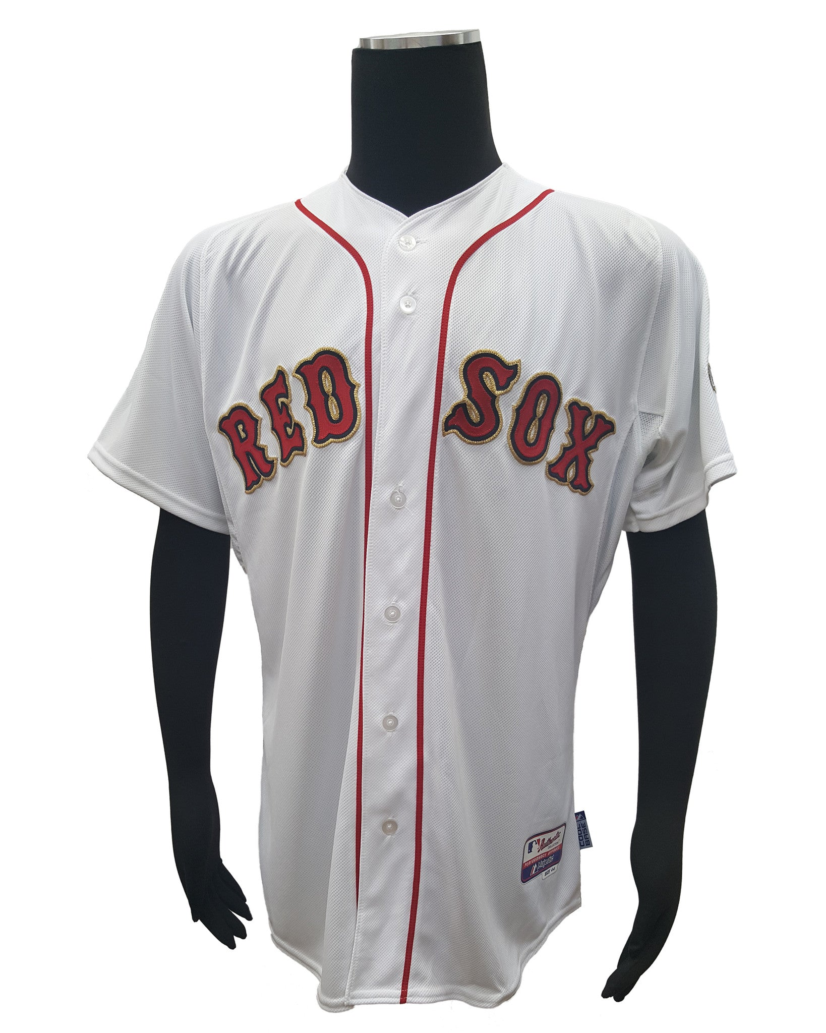 41dab5c4 Majestic Men's Boston Red Sox 2013 World Series Champions Replica Jersey