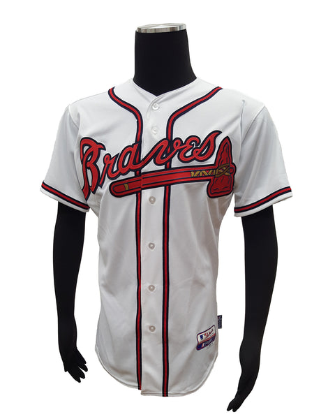 official photos 2a14c 9ecf4 Majestic Mens Replica Home Jersey Atlanta Braves Craig Kimbrel #46