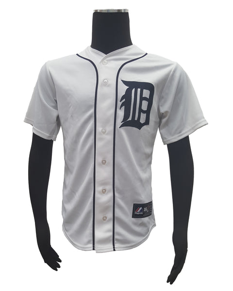 Majestic Detroit Tigers #14 David Price Men's Authentic Home MLB Cool Base Jersey