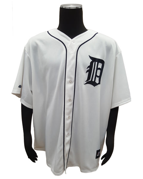 Majestic Detroit Tigers Torii Hunter #48 Home Player Jersey