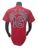 Majestic Boston Red Sox Middlebrooks #16 On-Field Flex Base Alternate Jersey