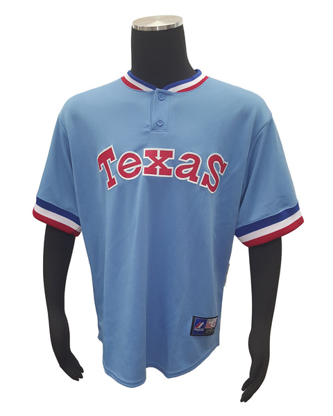 Majestic Cooperstown Collection Mike Npoli Texas Rangers #25 Jersey