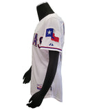 Authentic On-Field Road Jersey 40th Anniversary Texas Rangers Napoli #25
