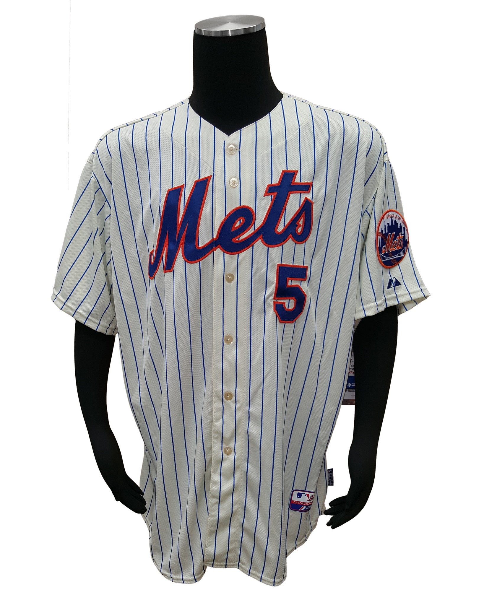 buy online 7b959 18ace Majestic New York Mets David Wright #5 MLB Cool Base Jersey