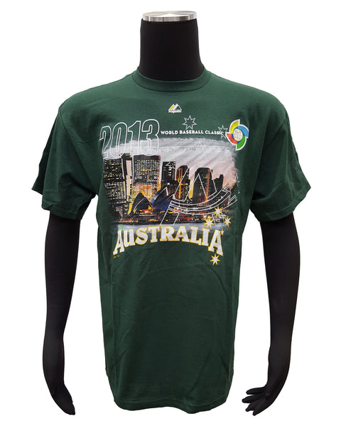 Majestic Men's Australia 2013 WBC T-Shirt