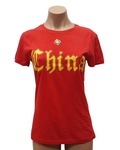 Majestic Women's China WBC T-Shirt