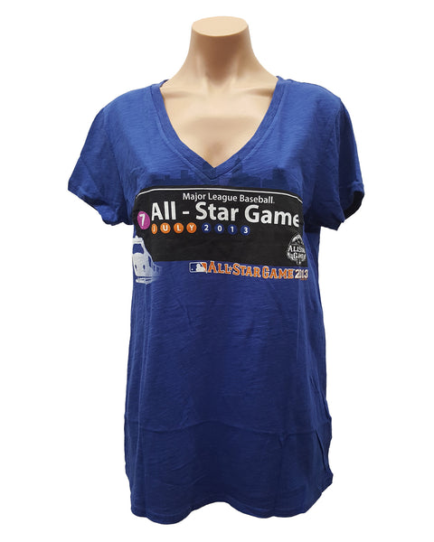 G-III 4HER BY CARL BANKS WOMEN'S 2013 MLB ALL-STAR GAME SIGNAGE T-SHIRT