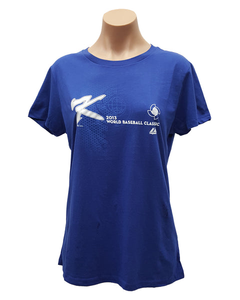 MAJESTIC KOREA BASEBALL WOMEN'S 2013 WBC T-SHIRT