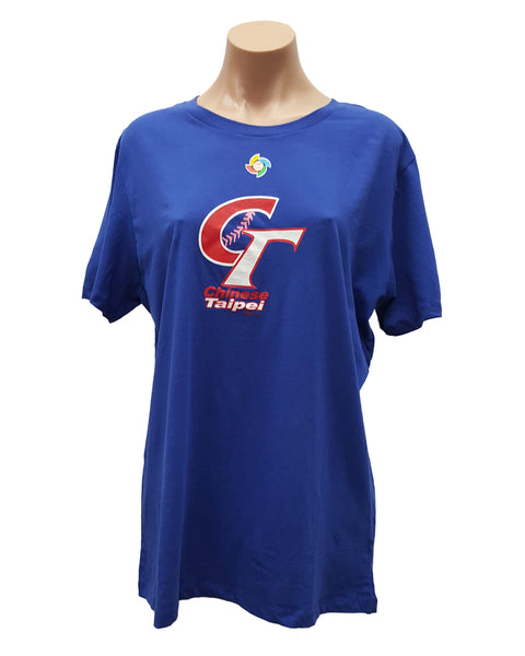 MAJESTIC CHINESE TAIPEI BASEBALL WOMEN'S WBC T-SHIRT