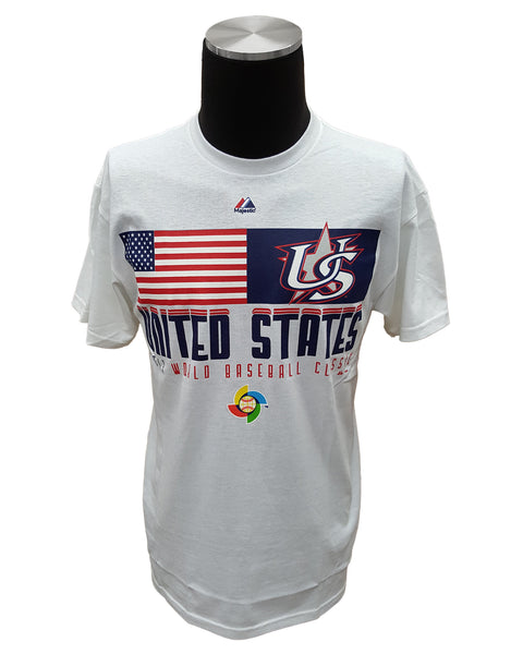 Majestic USA World Baseball Classic Event T-Shirt