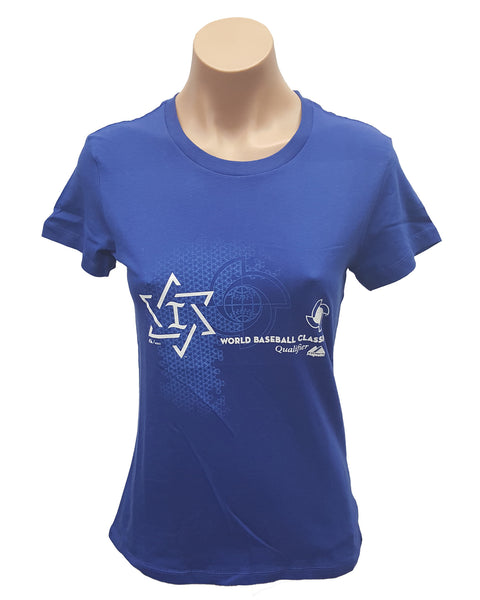 Majestic Women's Israel World Baseball Classic T-Shirt