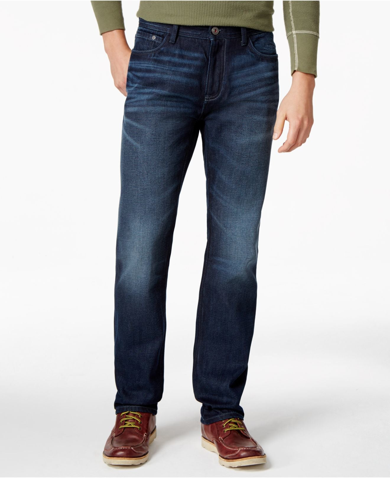 c659edad Tommy Hilfiger Men's Allen Dark Wash Jeans – Retail Trunk