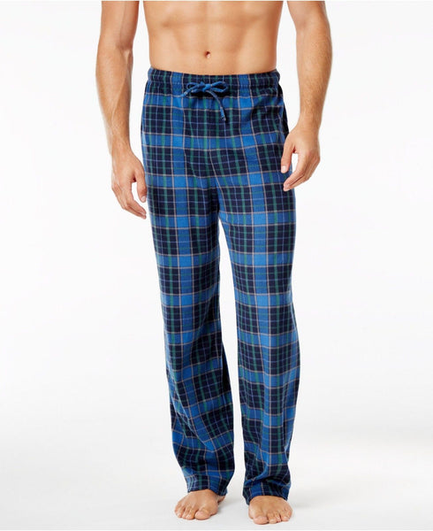 Club Room Men's Fleece Patterned Pajama Pant + BONUS Solid Pant