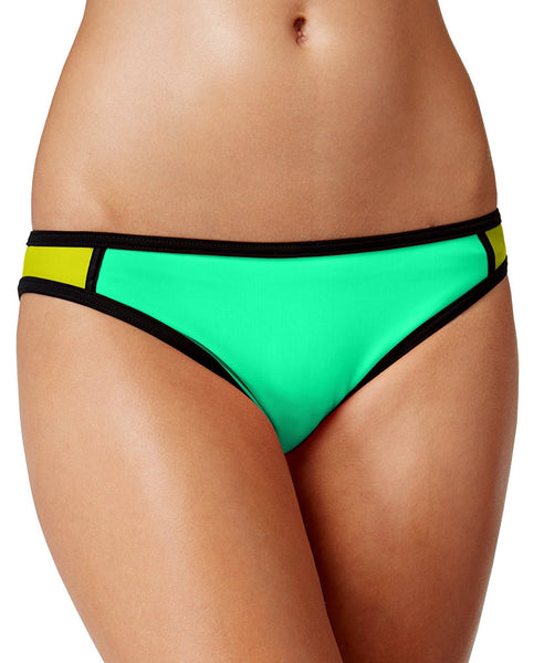 Hula Honey Women's Colorblocked Hipster Bikini Bottoms