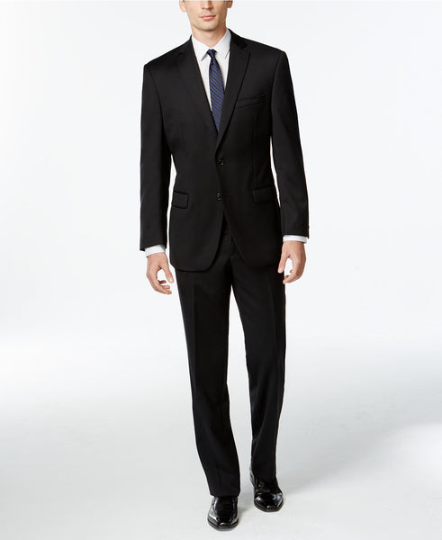 Calvin Klein Men's Solid Modern-Fit Suit