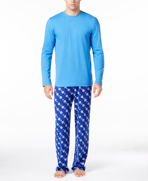 Family Pajamas Men's Dreidel Hanukkah Mix-It Pajama Set