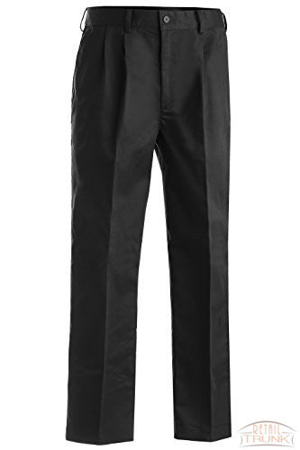 Edwards 2630 Men's Pleated Pant, Charcoal, 40RG