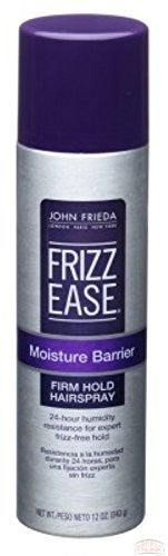 Frizz-Ease Moisture Barrier Firm-Hold Hair Spray, 12 oz (Pack of 2)