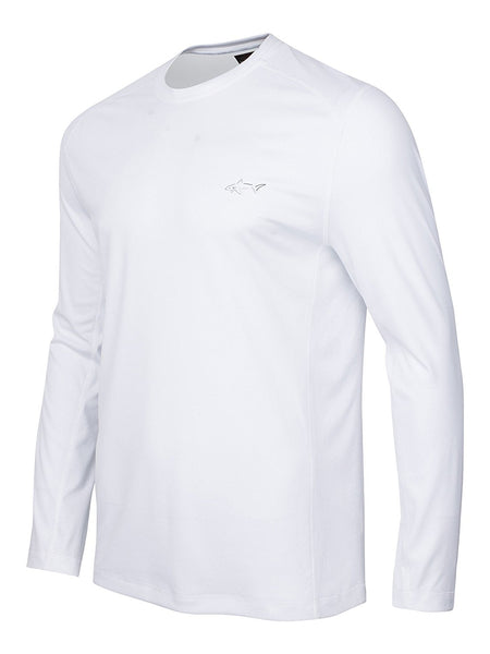 Greg Norman For Tasso Elba Performance Shirt, Bright White XXL