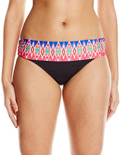 La Blanca Women's Sanbar Shirred Band Hipster Bikini Bottom