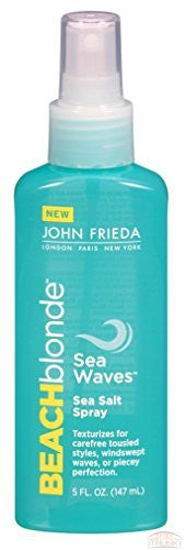 John Frieda Beach Blonde Sea Waves Sea Salt Spray 5oz (3 Pack)